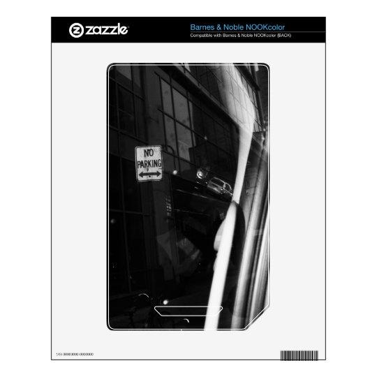 Estacionamiento prohibido blanco y negro NOOK color skins