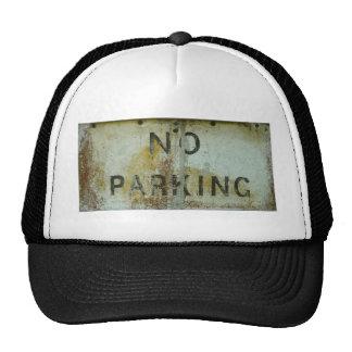 Estacionamiento prohibido gorra