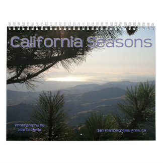 Estaciones de California - calendario
