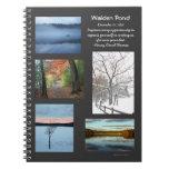 Estaciones de la charca de Walden Libros De Apuntes Con Espiral