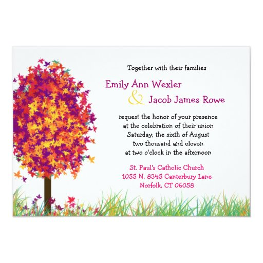 Estaciones de la invitación del boda del