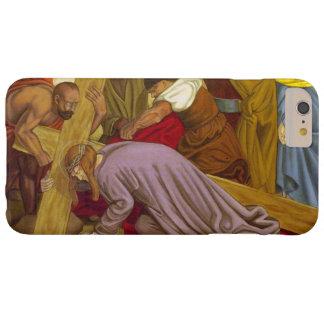 Estaciones de las caídas de Jesús de la cruz 9 la Funda Barely There iPhone 6 Plus