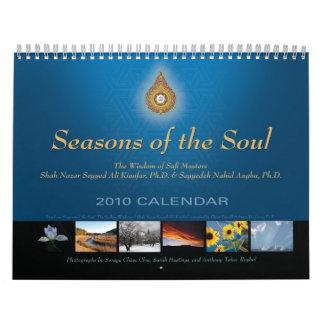 Estaciones del alma calendarios