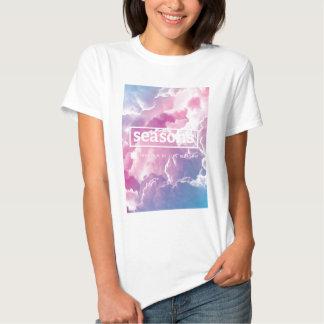 [estaciones] la camiseta de las mujeres de la remera