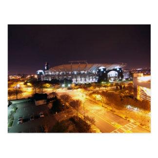 estadio de Charlotte Nc Tarjetas Postales