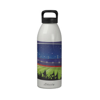 Estadio de fútbol botellas de beber
