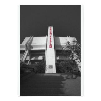 """Estadio del campo de ULL Cajun Invitación 5"""" X 7"""""""