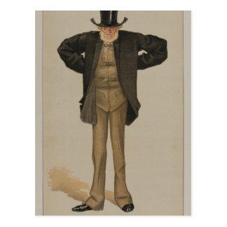 Estadistas No.1280 de James Tissot Postal