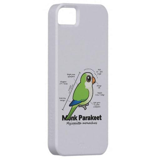 Estadísticas del Parakeet del monje iPhone 5 Funda