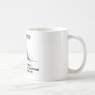 Estadísticas el arte y la ciencia de descubrir taza de café