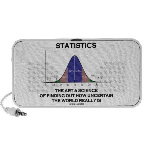 Estadísticas el arte y la ciencia de encontrar inc iPhone altavoces