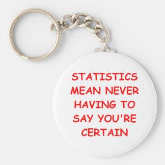 estadísticas llavero redondo tipo pin