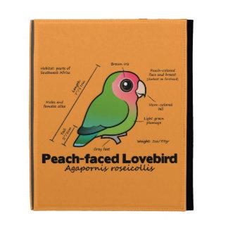 estadísticas Melocotón-hechas frente del Lovebird