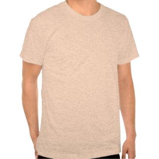 estadísticas Melocotón-hechas frente del Lovebird Camiseta