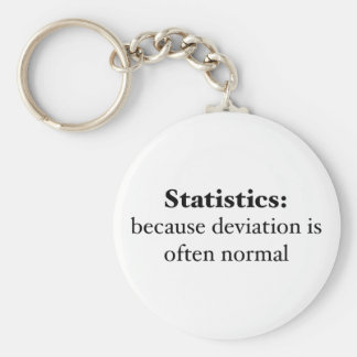 Estadísticas: porque la desviación es a menudo nor llavero redondo tipo pin