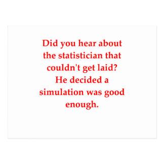 estadísticas postal