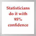 estadísticas posters