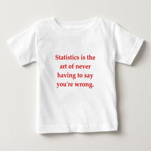 estadísticas t-shirts