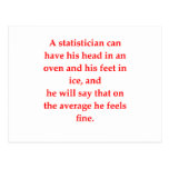 estadísticas tarjeta postal