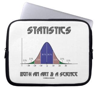 Estadísticas un arte y una ciencia (curva de Bell) Mangas Portátiles
