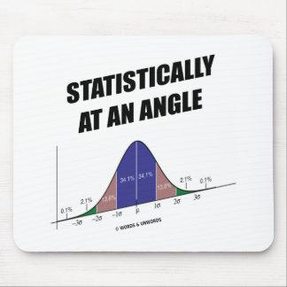 Estadístico en ángulo humor de la curva de Bell Tapete De Ratones
