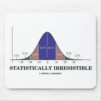 Estadístico irresistible humor del Stats Alfombrilla De Ratón