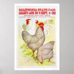Estado 1909 de California justo Poster