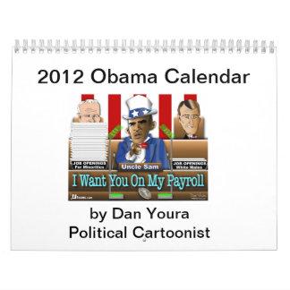 Estado 2012 de Obama del calendario de la unión de