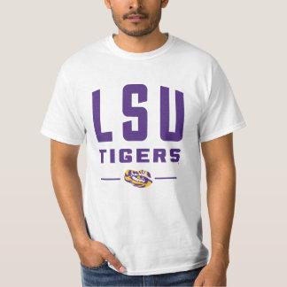 Estado 2 de los tigres el   Luisiana de LSU Remera