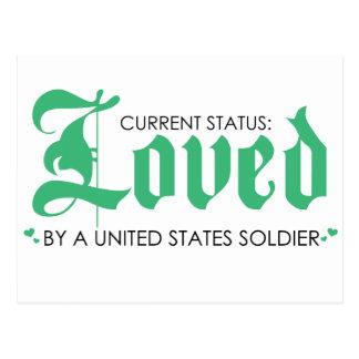 Estado actual: Amado por un soldado de los Postales