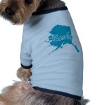 Estado Alaska Camisa De Mascota
