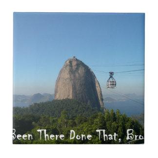 Estado allí Bro - Río de Janeiro, el Brasil Azulejo Cuadrado Pequeño