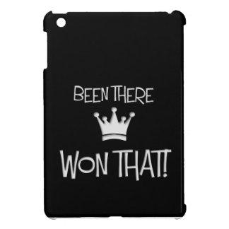 Estado allí, ganado eso iPad mini funda