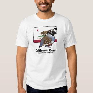 Estado Birdorable: Codornices de California Camisas