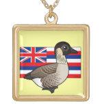 Estado Birdorable de Hawaii: Nene Collar Personalizado