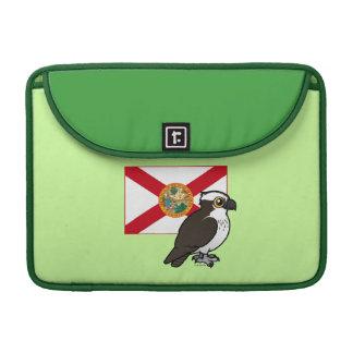 Estado Birdorable de la Florida Funda Para Macbooks