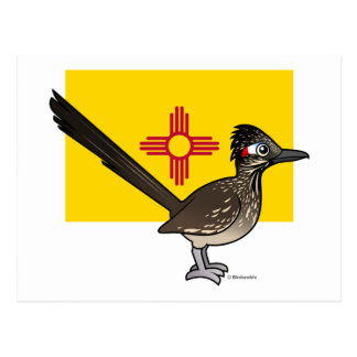 Estado Birdorable de New México: Roadrunner Postal