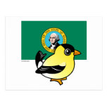 Estado Birdorable de Washington Tarjetas Postales