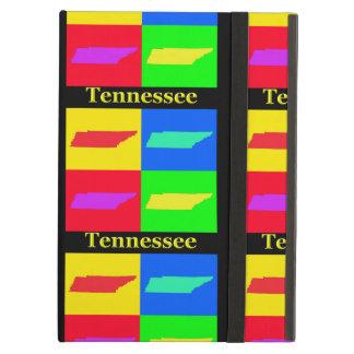 Estado colorido del mapa del arte pop de Tennessee
