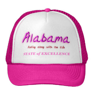 Estado de Alabama de la excelencia Gorros Bordados