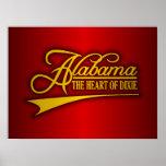 Estado de Alabama los míos Impresiones