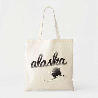 Estado de Alaska Bolsa Tela Barata