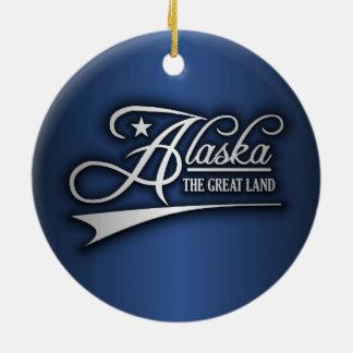 Estado de Alaska los míos Ornamento De Reyes Magos