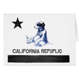 Estado de ánimo de California Tarjeta De Felicitación