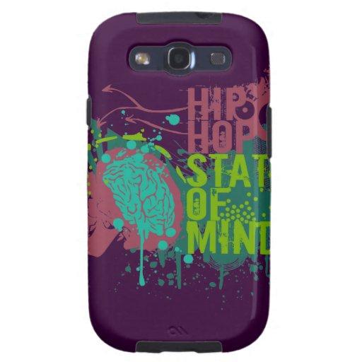 Estado de ánimo de Hip Hop Galaxy S3 Funda
