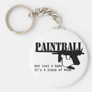 Estado de ánimo de Paintball/A Llavero Redondo Tipo Pin
