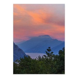 Estado de ánimo de tarde a la Gardasee