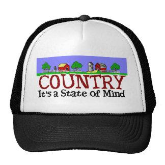 Estado de ánimo del país gorro