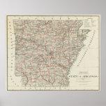 Estado de Arkansas Póster