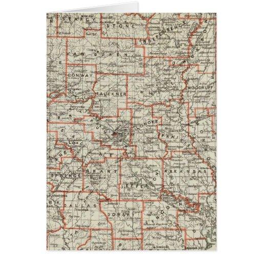 Estado de Arkansas Tarjeta De Felicitación